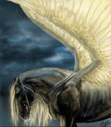 image cheval magique